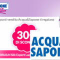 Coupon sconto Acqua&Sapone