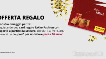 Coupon Takko Fashion per Natale