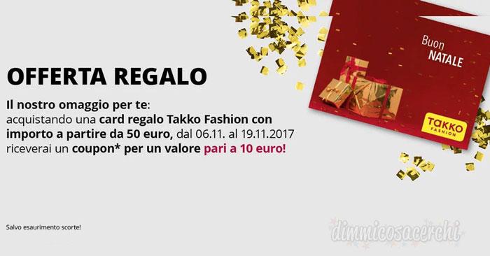 cede5ad77850 Coupon Takko Fashion per Natale