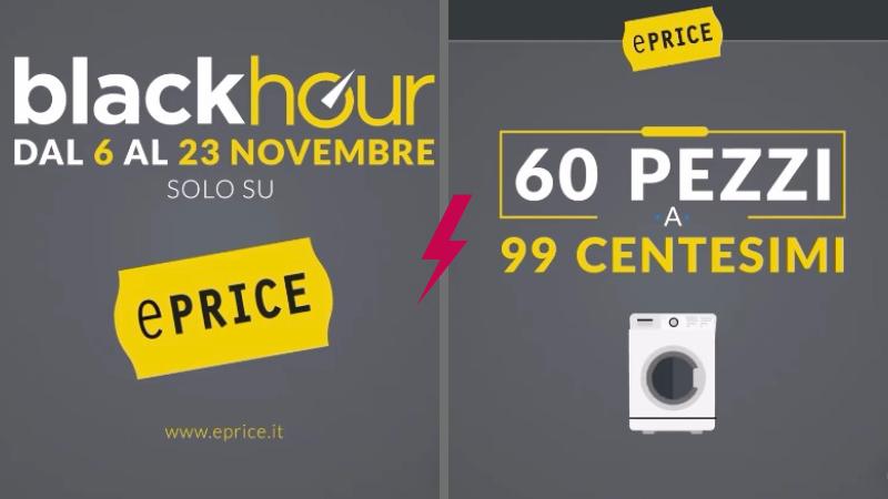 Eprice: ogni giorno 60 prodotti a 0,99€ aspettando il Black Friday!