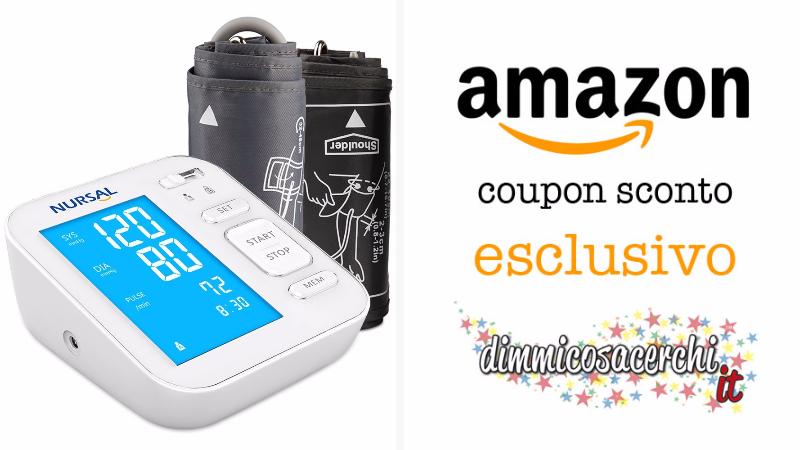 Misuratore Digitale Pressione sanguigna: sconto Amazon esclusivo