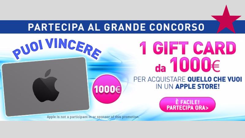 Vinci Carta regalo Apple Store con Casa Henkel