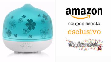 Sconto Amazon esclusivo per diffusore di aromi
