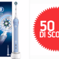 Spazzolino Elettrico Oral-B Pro CrossAction 2000: sconto 50% SOLO OGGI!