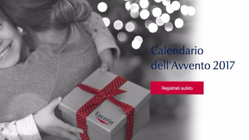 Vinci prodotti Eucerin con il calendario dell'avvento 2017