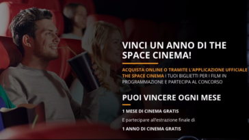 Vinci un anno di The Space Cinema