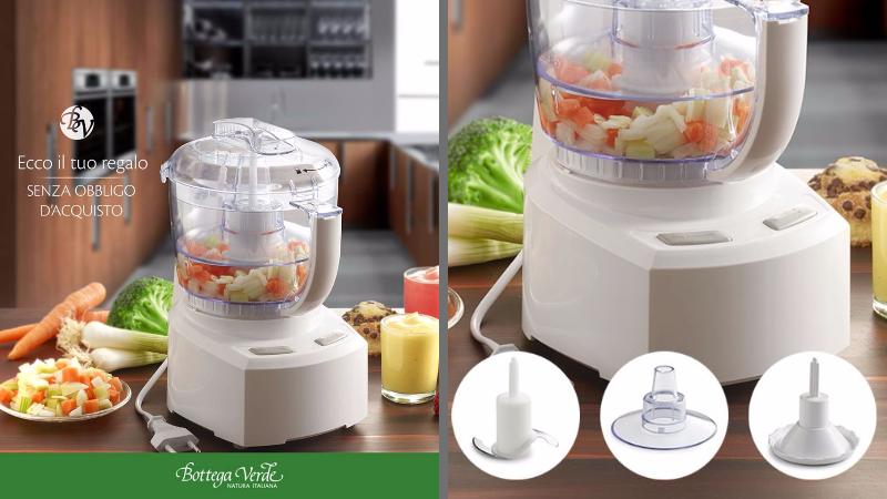 Robot da cucina Bottega Verde nella nuova visita premiata! | Il ...