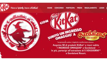 KitKat: ingresso Gardaland omaggio + vinci un soggiorno!
