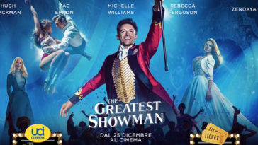 Vinci con UCI Cinemas e The Greatest Showman