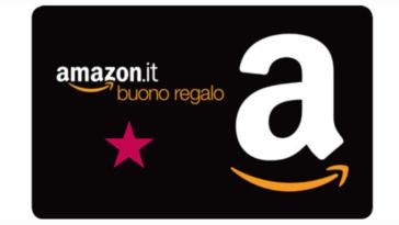 Amazon: ricarica e ricevi 5€ in omaggio