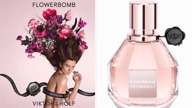 Campione omaggio Flowerbomb EDP diViktor & Rolf
