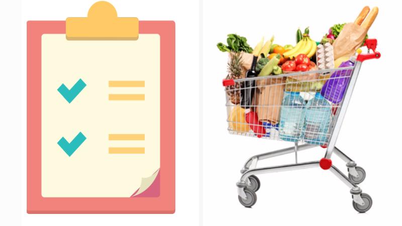 """Come fare la """"lista della spesa"""": consigli utili"""