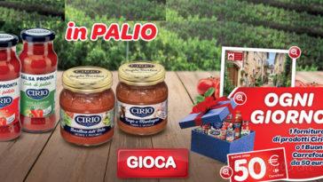 """Concorso """"Vinci Cirio con Carrefour"""""""