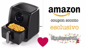 Friggitrice ad aria calda: codice sconto Amazon esclusivo