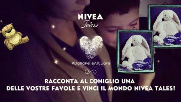 Vinci i Conigli peluche NIVEA TALES e soggiorni da sogno