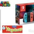 Concorso Danone 2018: vinci Consolle Nintendo Switch Super Mario