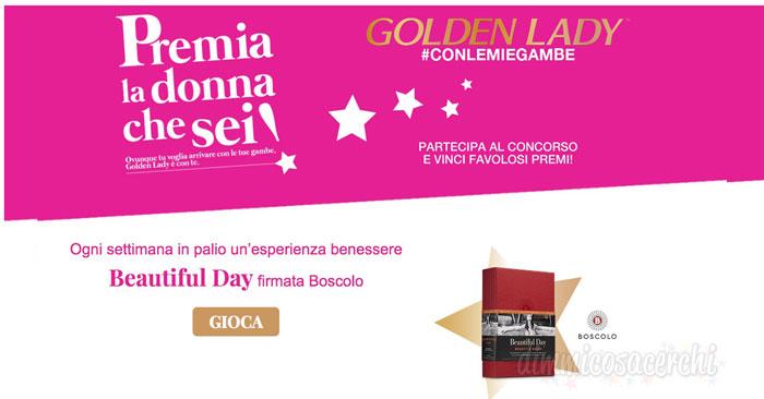 Concorso Golden Lady: vinci il viaggio dei tuoi sogni