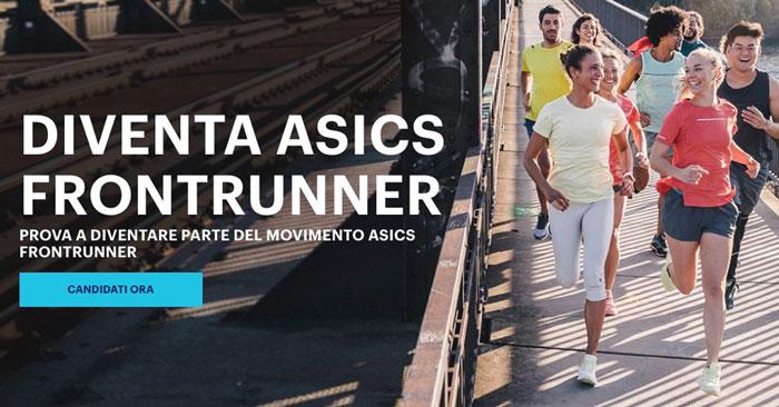 Diventa Asics Frontrunner