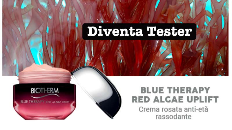 Diventa tester Biotherm Blue Therapy red algae uplift