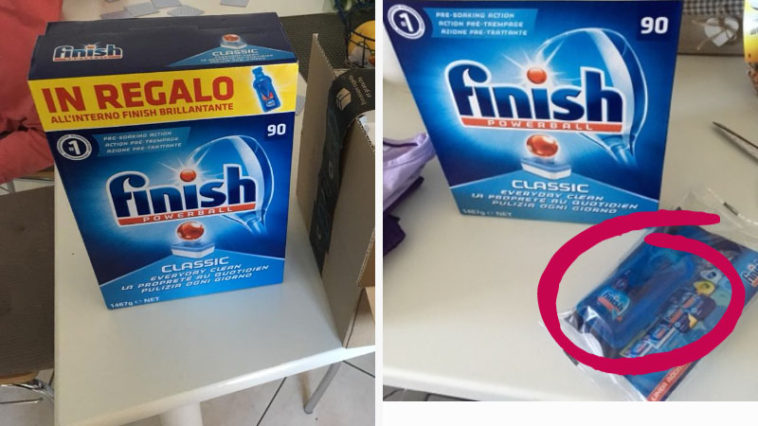 Offerta Finish tabs: