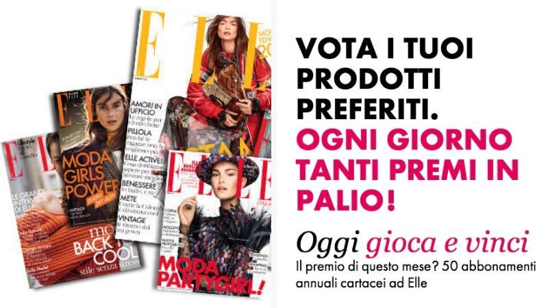 Vinci abbonamenti riviste con Elle Beauty Award