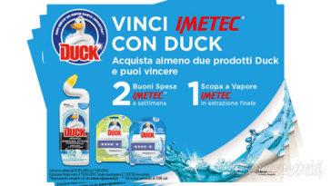Vinci scopa a vapore Imetec con Duck