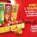 Vinci un viaggio con i tubi Pringles