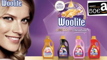 Woolite ti premia con la bellezza