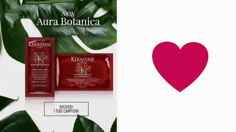 Campioni omaggio Aura Botanica Riche e Soin Fondamental Kerastase