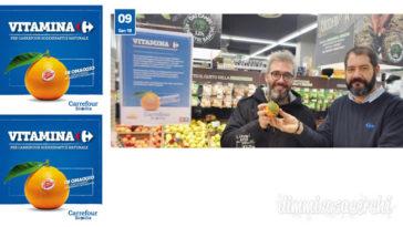 Carrefour Sicilia: ogni 3 sacchetti bio, un'arancia omaggio!