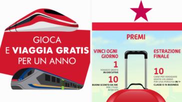 Concorso Trenitalia: viaggia gratis per un anno!