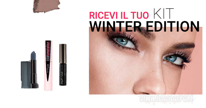 Diventa tester Maybelline winter edition