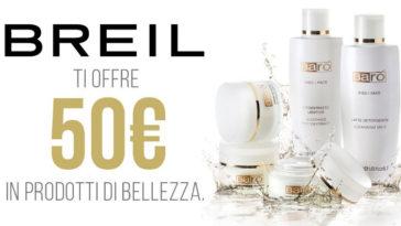 Breil ti regala i cosmetici Barò Cosmetics