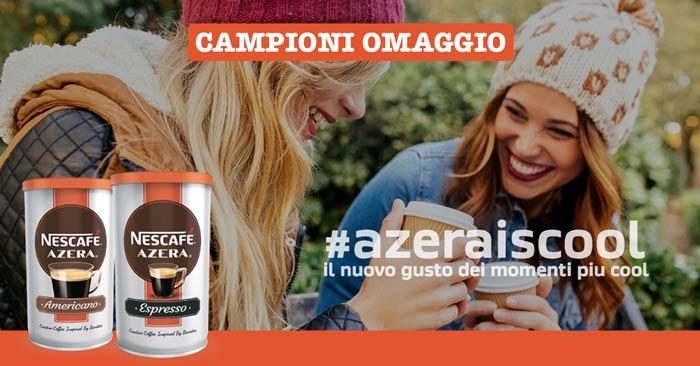 Campioni omaggio Nescafé Azera: ecco come riceverli!
