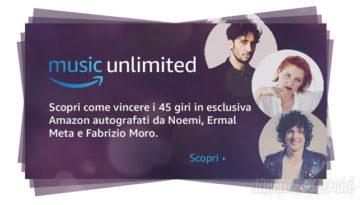 Concorso Amazon e Sanremo 2018