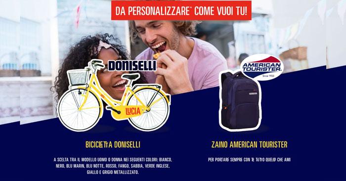 """Concorso """"Come lo vuoi TUC"""": vinci zaini e biciclette"""