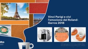 Concorso Lavazza: vinci Parigi, tazzine e macchine per caffè
