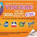 Contenti e Insieme SC Johnson: vinci 300 buoni spesa da 25,00€