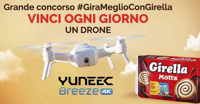 Gira meglio con Girella: vinci droni Yuneec