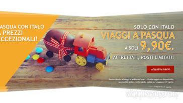 Italo: viaggi a Pasqua a soli 9,90€