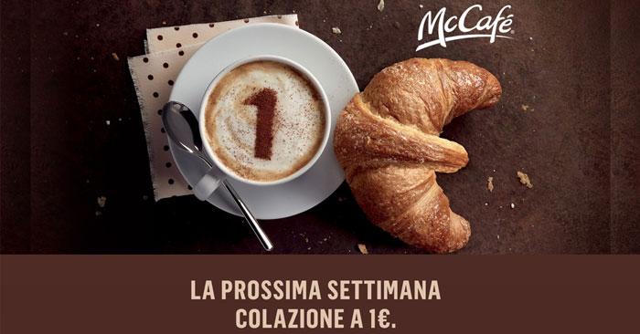 McDonald's: colazione a 1€