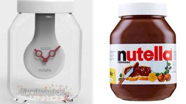 Orologio Tappo Nutella by Alessi: premio sicuro