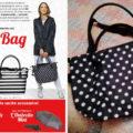 Rivista Chi con City Bag, impermeabile e ombrello (prezzi e date di uscita)