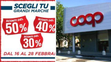 """Sconti Coop: tornano i bollini """"Scegli tu"""" con sconti fino al 50%!"""