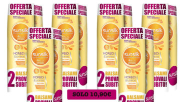 Sunsilk Balsamo Morbidi e Luminosi offerta