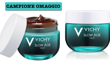 Campione omaggio Vichy Slow Age trattamento notte
