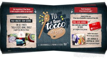 """Bonduelle: """"Il tuo tocco di stile"""". Vinci servizi di piatti e shopping per 1.000€!"""