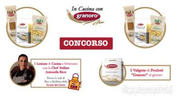 """Concorso """"In cucina con Granoro"""": vinci forniture e lezioni di cucina"""