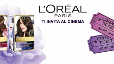 L'Oréal Paris ti invita al cinema