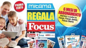 Mitama ti regala Focus: come richiedere il premio